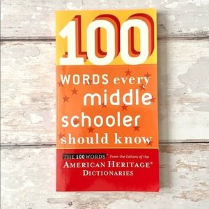 100 Words Every Middle Schooler Should Know Book